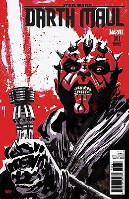 Darth Maul 1 Unknown Comics Exclusive Variant Walsh In Hand