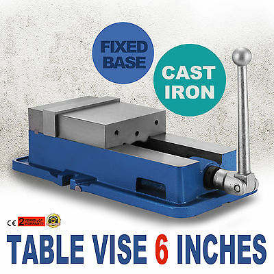 6Inch Vise Precision Milling Drilling Machine Clamp Vice Fixed Base WISE