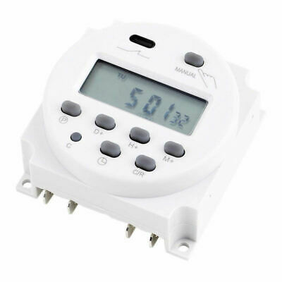 New Digital Time Programmable Timer Switch Mini LCD Power Weekly DC 12V 16A AU