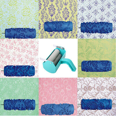 15cm DIY Empaistic Pattern Painting Roller Home Wall Decoration Supply Tool