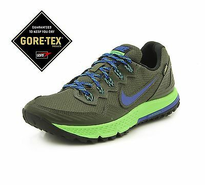 4552d9ce9171f Gore-TEX Nike Air Zoom Wildhorse 3 GTX Khaki Green blue 805569 300 RARE