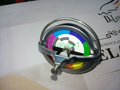 Metal Precision Gyroscope Child Physics Toy Science Colorful Sticker CA C TL002