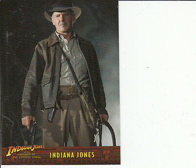 Indiana Jones Kingdom of the Crystal Skull Trading Card Set (90 Cards)