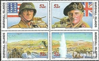 Marshall-Islands 473-476 block of four unmounted mint / never hinged 1993 Histor