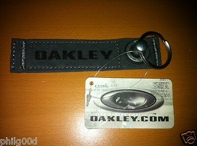 NEW Oakley SHEET METAL Grenade Pin Keychain Rare TACTICAL ELITE AP DISCONTINUED
