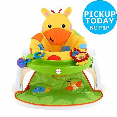 Fisher Price Giraffe Sit-Me-Up Feeding Booster Seat.