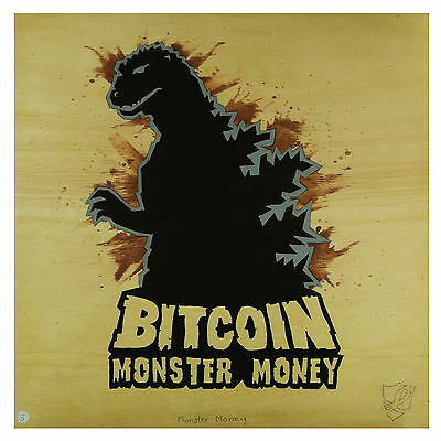 Painting #3 - Monster Money