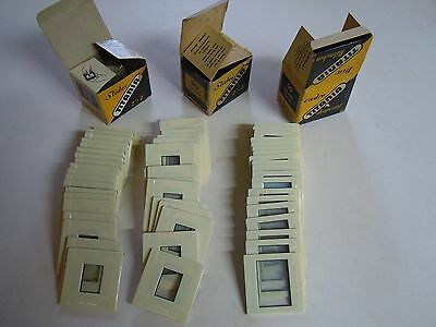 Titania Glass Slide Mounts 1 Box of 20 - 28x40  &  2 Boxes of 20 18x24 Used