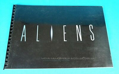 ALIENS Campaign Promotional large photographic book 1985 handmade 1/20, prop COA