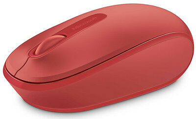 Microsoft MS Wireless Mobile Mouse 1850 Red U7Z-00034 MICROSOFT