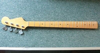 "NEW PB maple neck fingerboard, Klusons skunk stripe, truss in heel, 9.5"" radiius"