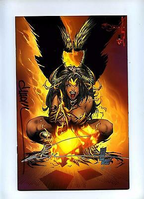 Darkness #25 - Image Comics 1999 - Holo-Chrome Signed Ed D Wohl - NM-
