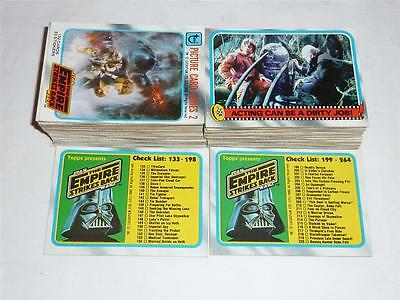 Star Wars Empire Strike Back Series 2 Complete Set - #133 to #264 - Topps 1980