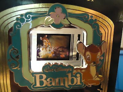 Disney Piece Of Disney Movies Bambi Bambi Thumper Flower Pin On Card Le 2000