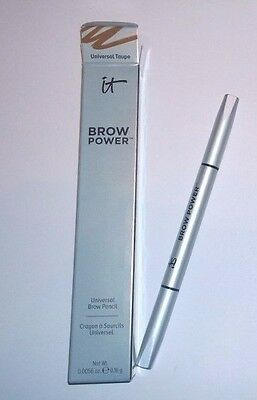 it Cosmetics Brow Power Eyebrow Pencil Universal Taupe - Full Size - New in Box