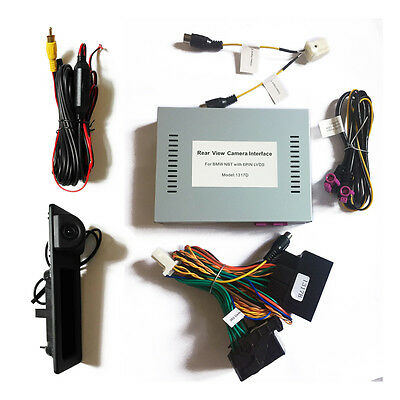 BMW F10 F30 Camera Interface WITH Trunk Boot Camera SET W/Parking Guidelines,PDC