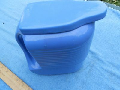 Westinghouse by Hall China, Water Pitcher, Blue, #300