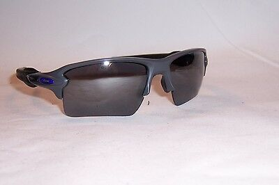 4836b71fdd New Oakley Sunglasses FLAK 2.0 XL OO9188-57 GRAY BLACK MIRROR AUTHENTIC 9188