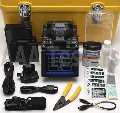 Fujikura FSM-50S SM MM Fiber Core Alignment Fusion Splicer w/ Cleaver FSM50S