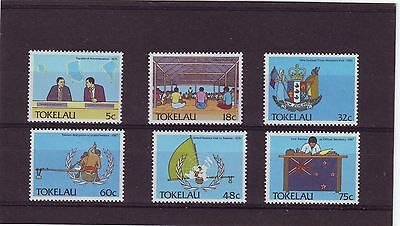 Tokelau - Sg159-164 Mnh 1988 Political Development