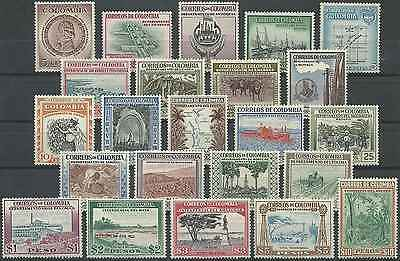Timbres Colombie 509/30 * lot 6145 - cote : 55,00 euros
