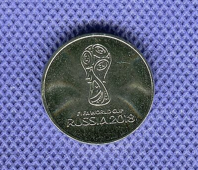 Russia 25 roubles 2018 (2016) FIFA World Cup football Cu-Ni