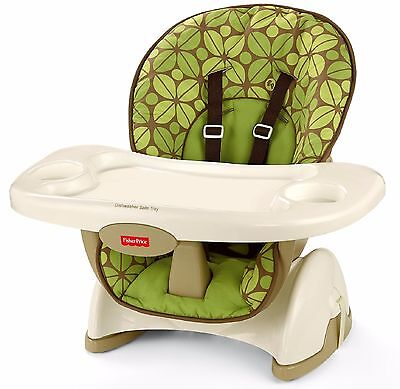 FISHER PRICE SPACE SAVER HIGH CHAIR BOOSTER SEAT Infant Baby Newborn Toddler Eat