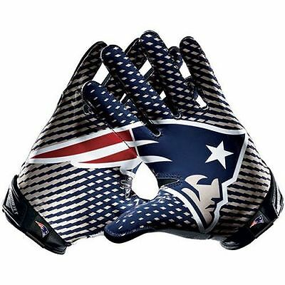 "New England Patriots 5.5""x 6"" Car Truck Window Vinyl Glossy Sticker Decal Gloves"