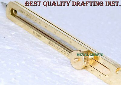 """Brass Proportional Divider Drafting Tool 6"""" Scientific Engineer Quality Products"""