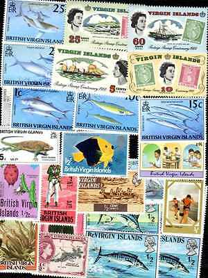 Iles Vierges - Virgin Islands 50 timbres différents
