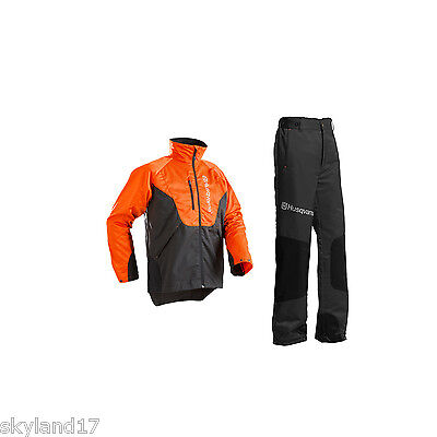 Husqvarna Classic Chainsaw Trouser & Jacket Set
