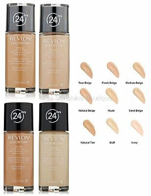 REVLON colorstay 24 hour foundation combination/oily skin spf6 in 350 rich tan