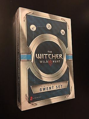 The Witcher 3 - Gwent/Gwynt Cards set - Limited Edition pack 1 - ENGLISH - NEW