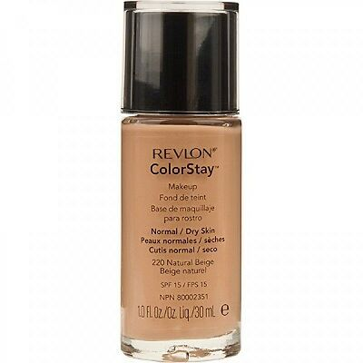 REVLON colorstay 16 hours foundation - normal to dry in 180 sand beige 30ml