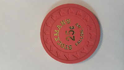 Old  Stockmans Casino $.25 Cent Poker Chip From Fallon Nevada!