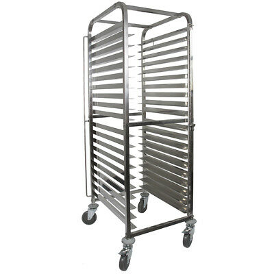 Vollum Knock Down Bakery Rack All Stainless, for Full Size Sheet Pans 20 trays