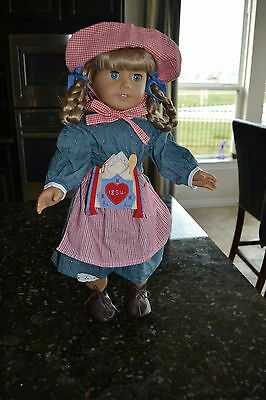 American Girl Kirsten - tagged AG on neck