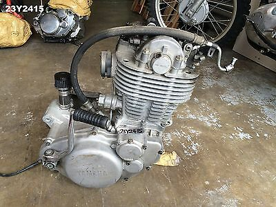 Yamaha Sr 400 All Year Engine Motor Genuine Oem Done 30,000 K/m's Lot23  23Y2415
