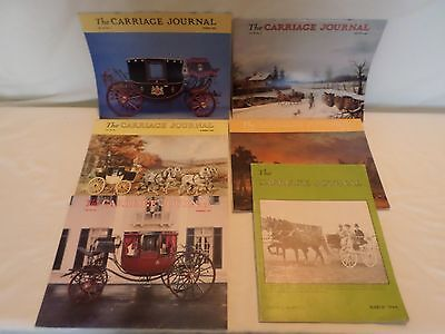 Lot of 6 Vintage Carriage Journal Magazines
