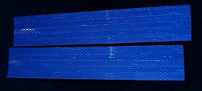 """3M Blue 2""""x12"""" Conspicuity Reflective Tape 8 Sheets"""