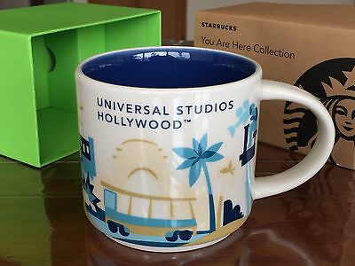 New Starbucks Universal Studios Hollywood YAH You Are Here Collection Coffee Mug