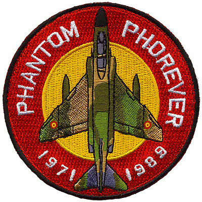 Parche F-4C Phantom Ejército del Aire España / Spanish Air Force patch. Military