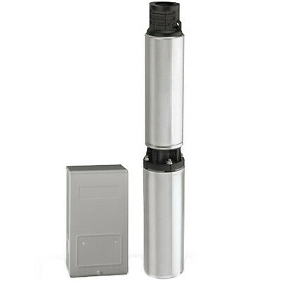 Flotec FP3342 - 20 GPM 1-1/2 HP Deep Well Submersible Pump (3-Wire 230V) w/ C...