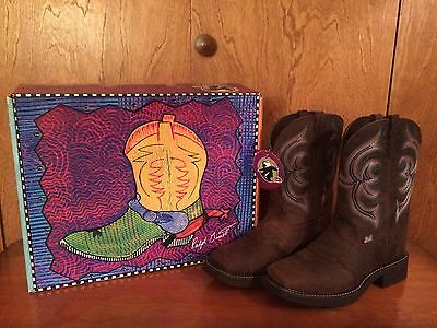 Justin Gypsy Collection Ladies Cowboy Boots Style #L9984 size 9.5B New in Box