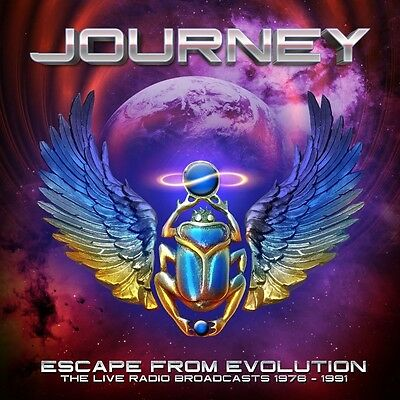 Journey - Escape From Evolution (The Live Radio Broadcasts)  2 Cd New+
