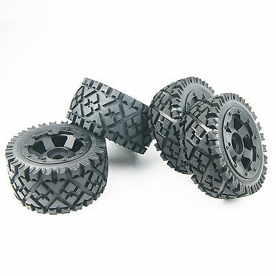Front and Rear All terrain tyre wheel rim For Rovan HPI Baja 5B SS