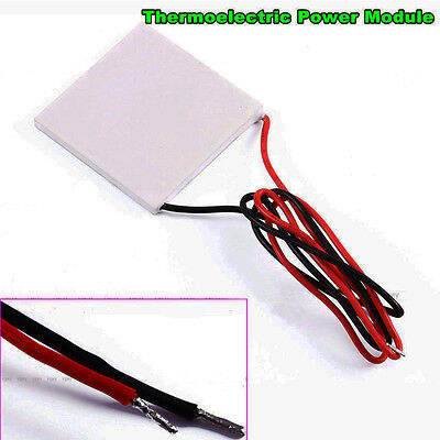 High Temperature Thermoelectric Power Generator Peltier TEG Module 40x40mm Fine