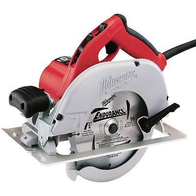 Milwaukee 6391-21 (Corded) Circular SawLeft Blade, 15 Amps, 7 1/4in