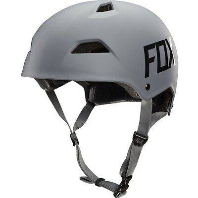Fox Mtb Flight Hardshell Hommes Casque - Grey Toutes Tailles