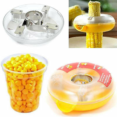 Corn Cob Kerneler Peeler Remover  Cutter  Stripper One-step  Kitchen
